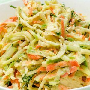 Салат из редьки с картошкой
