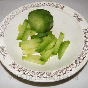маргеланская редька фото в тарелке