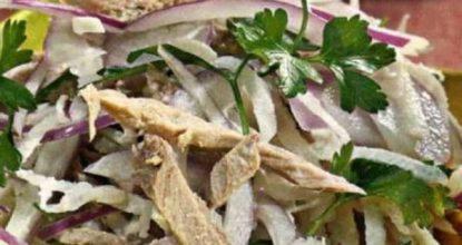 Салат из редьки — рецепты и «изюминки» приготовления